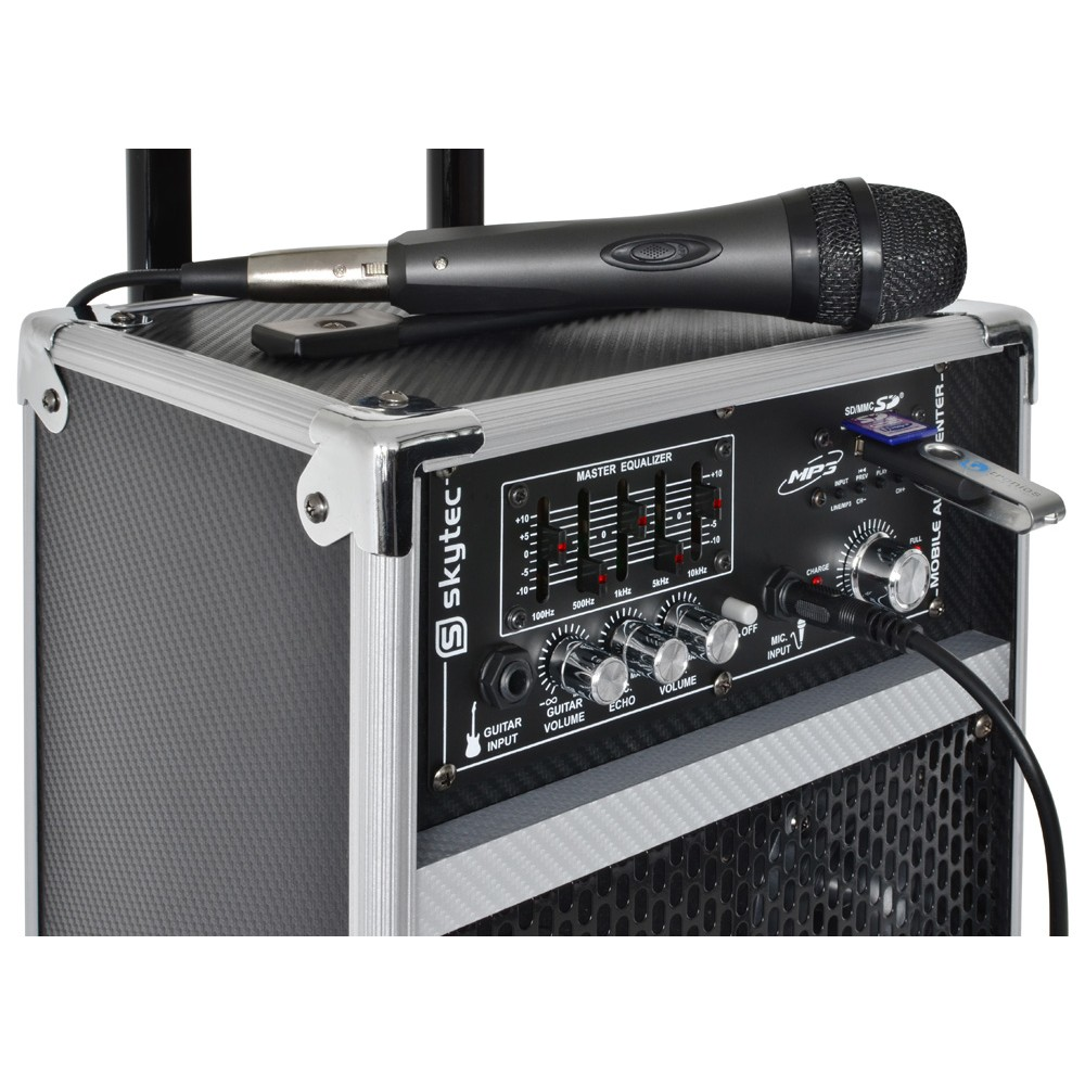 mobiele microfoon set
